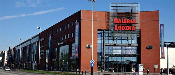 מרכז קניות Galeria Lodzka