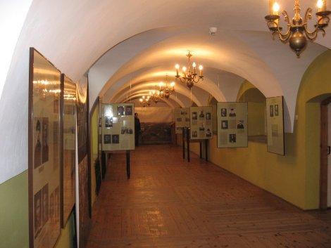 מוזאון ב Tykocin ( במבנה בית הכנסת העתיק)