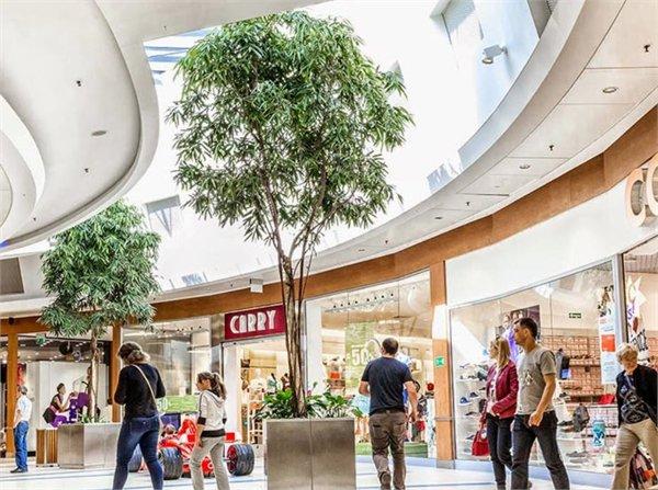 מרכז קניות Platan ב Zabrze