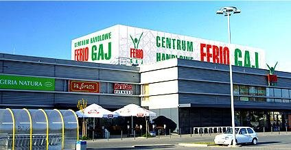 מרכז קניות Galeria Ferio Gaj בורוצלב