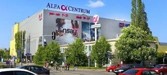 מרכז קניות Alfa Centrum בגדנסק - Pomorskie