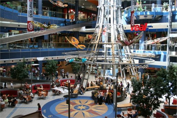 מרכז קניות  Galaxy Szczecin - Zachodniopomorskie