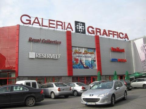 מרכז קניות Galeria Graffica