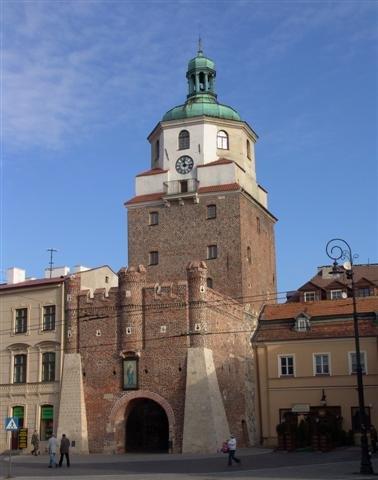 שער Krakowska  ב Lublin