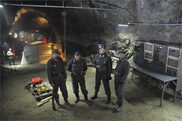 """מוזאון מחתרת תת-קרקעי - """"מעבדה האבודה של היטלר"""""""
