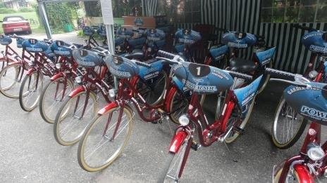 השכרת אופניים בפארק ב Myslecinku)  Bydgoszcz)