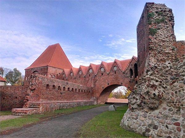 ההריסות של הטירה הטבטונית