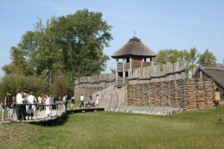 מוזיאון ארכיאולוגי ב Biskupin