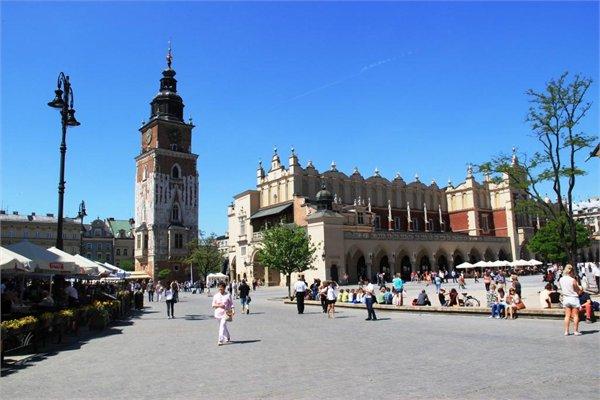 Экскурсия по Кракову - обзорная, 4 часа