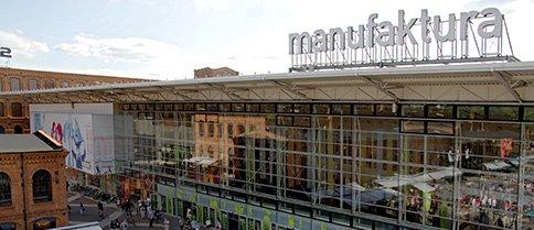 MANUFAKTURA - מרכז קניות ואירועי תרבות וספורט - Lodzkie