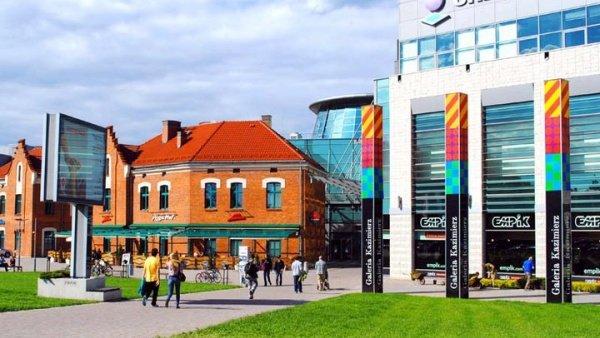 מרכז קניות - Galeria Kazimierz בקרקוב