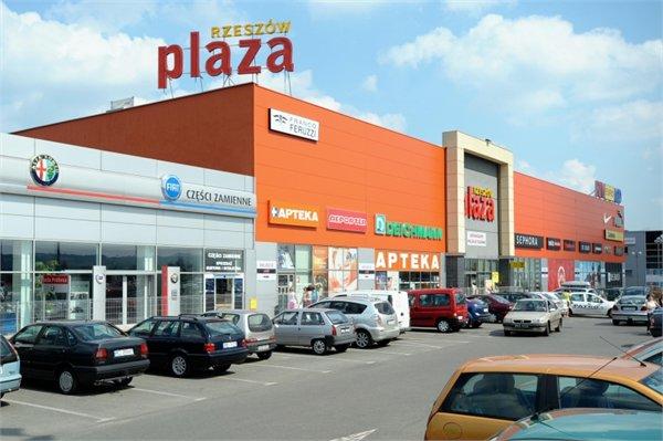 מרכז קניות Rzeszow Plaza