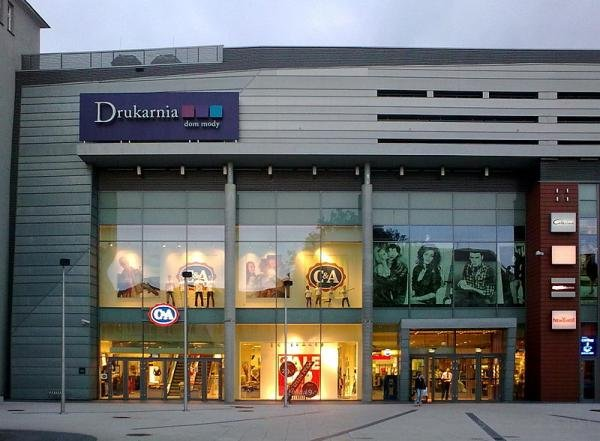 מרכז קניות Dom Mody Drukarnia