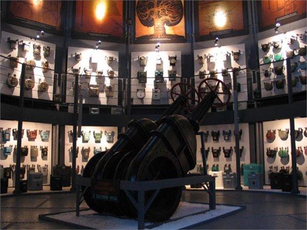מוזיאון גז ב- Paczkow