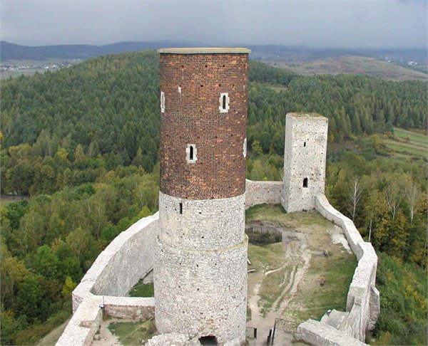 מבצר ב Checinach - Swietokrzyskie