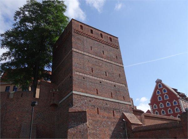 המגדל הנטוי בטורון - Kujawsko-Pomorskie