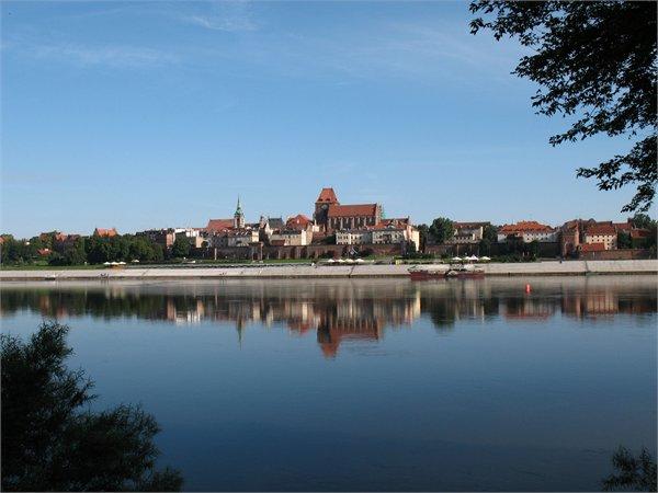 תצפית על הוויסלה בטורון - Kujawsko-Pomorskie